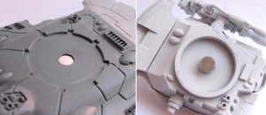 Magnetised Eldar Falcon turret