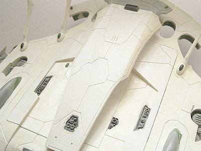 Eldar Pegasus upper hull close-up