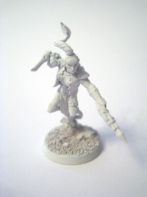Eldar Metal Harlequin with Harlequin/'s Kiss